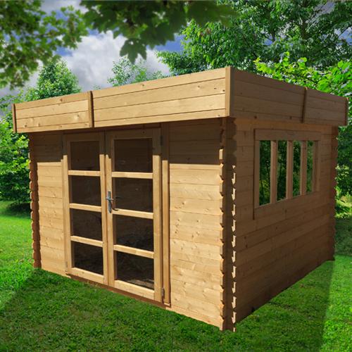 Abri de jardin en bois destockage
