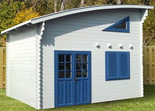 Abri de jardin 20m2 habitable avec mezzanine - Châlet, maison et cabane