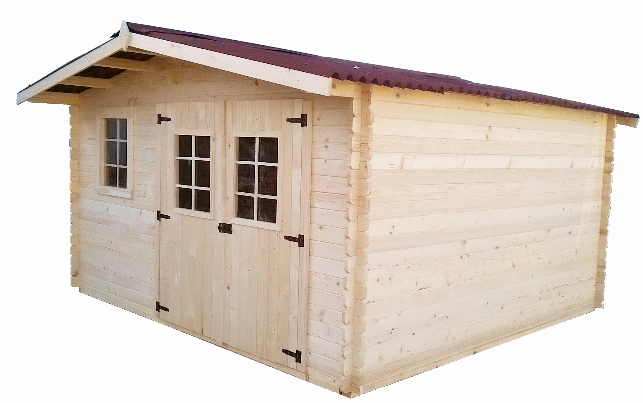 Abri jardin naterial - Châlet, maison et cabane