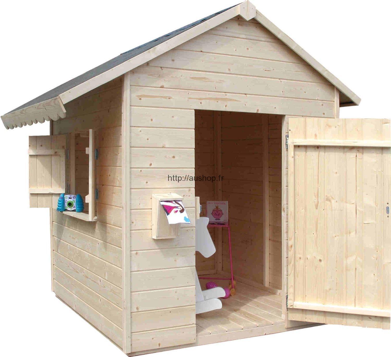 Solde cabane en bois
