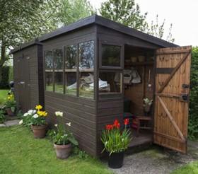 Cabane de jardin en solde