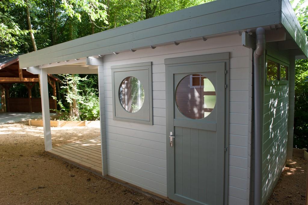 Chalet Bois Habitable 20m2 Toit Plat Châlet Maison Et Cabane