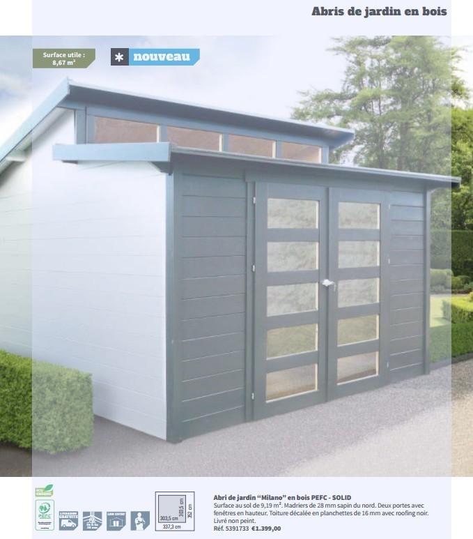 Abri de jardin plan it - Châlet, maison et cabane