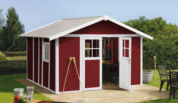 magasin en ligne db49d eb3ea Abri de jardin jardiland - Châlet, maison et cabane
