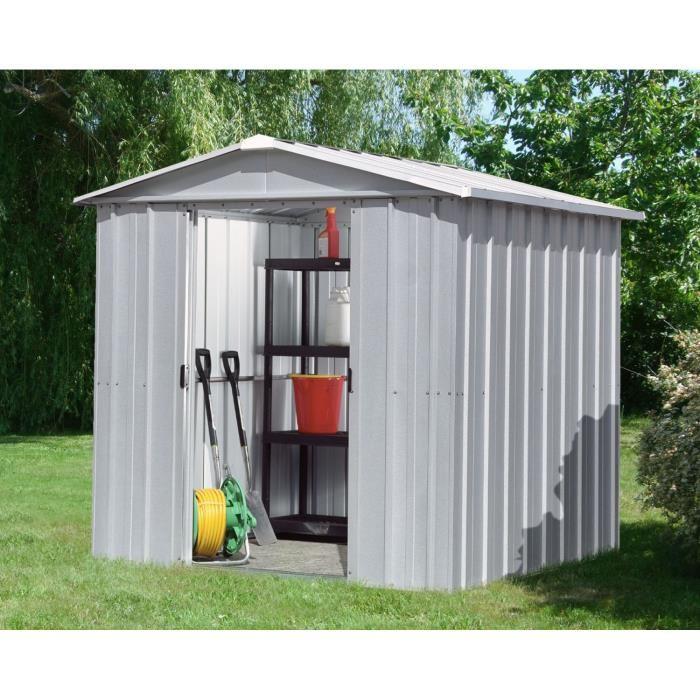Abri jardin metal yardmaster - Châlet, maison et cabane