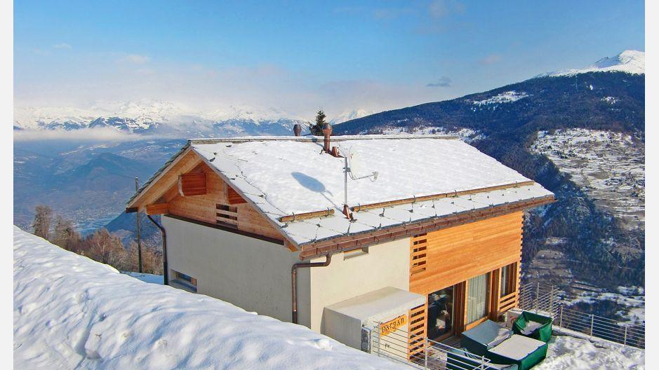 Location chalet ski suisse