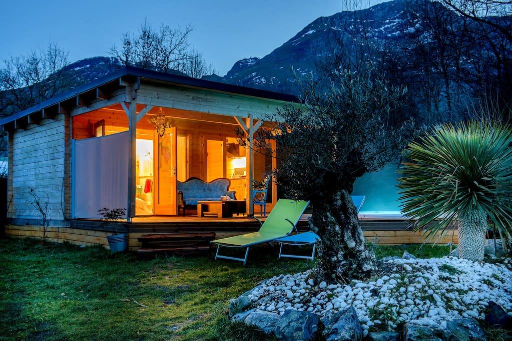 Airbnb chalet pyrénées