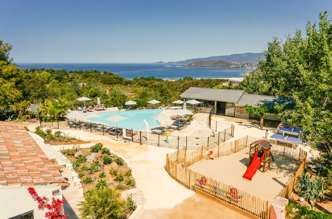 Location chalet corse du sud camping