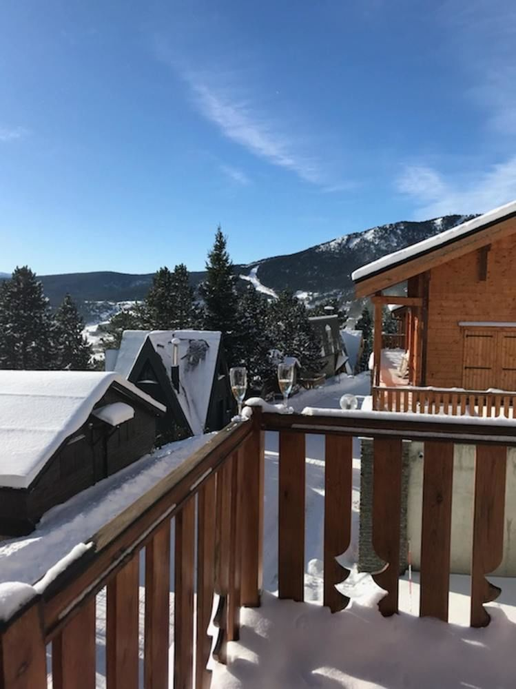 Location chalet les angles 66210