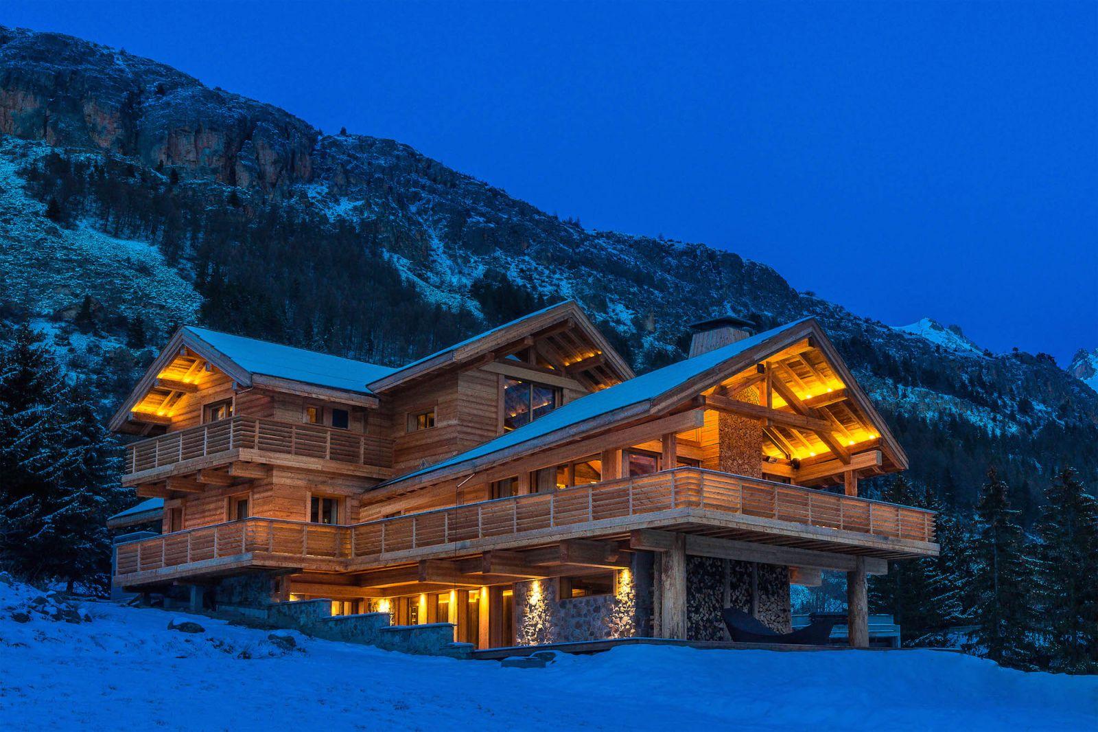 Location chalet prestige alpes