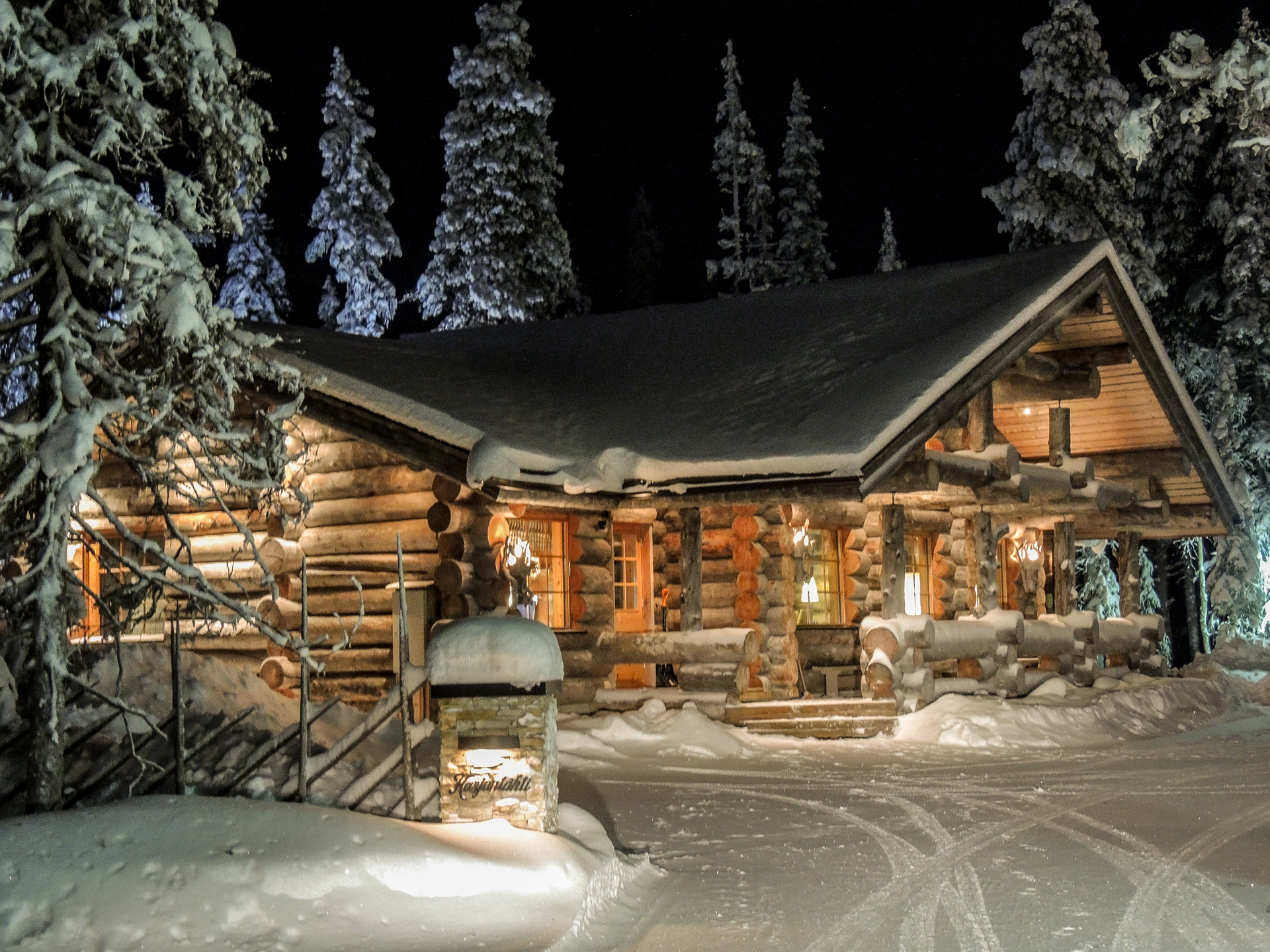 Chalet canada hiver