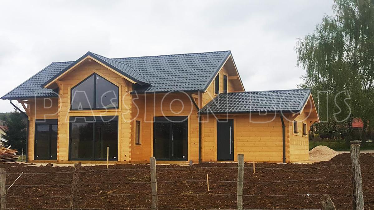 Chalet en bois 60m2 - Châlet, maison et cabane