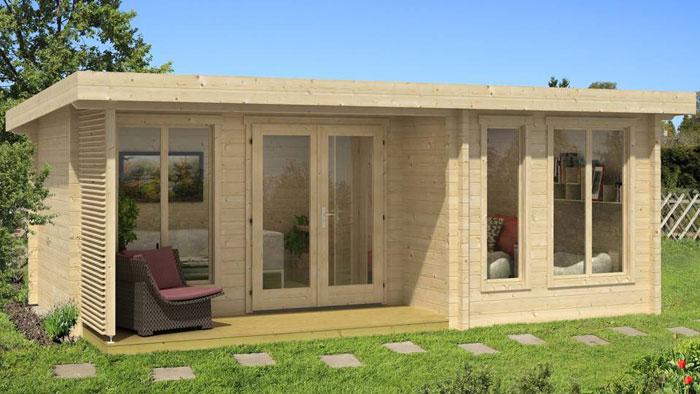 Awesome Abri De Jardin Habitable Toit Plat Ideas - House Design ...