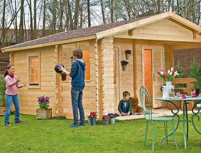 Fabriquer un chalet de jardin en bois