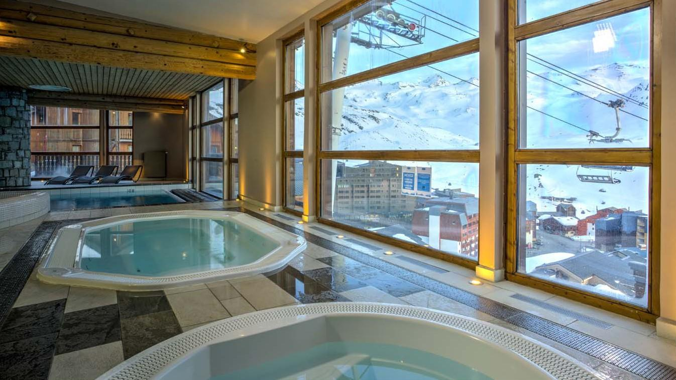 Chalet balcons val thorens