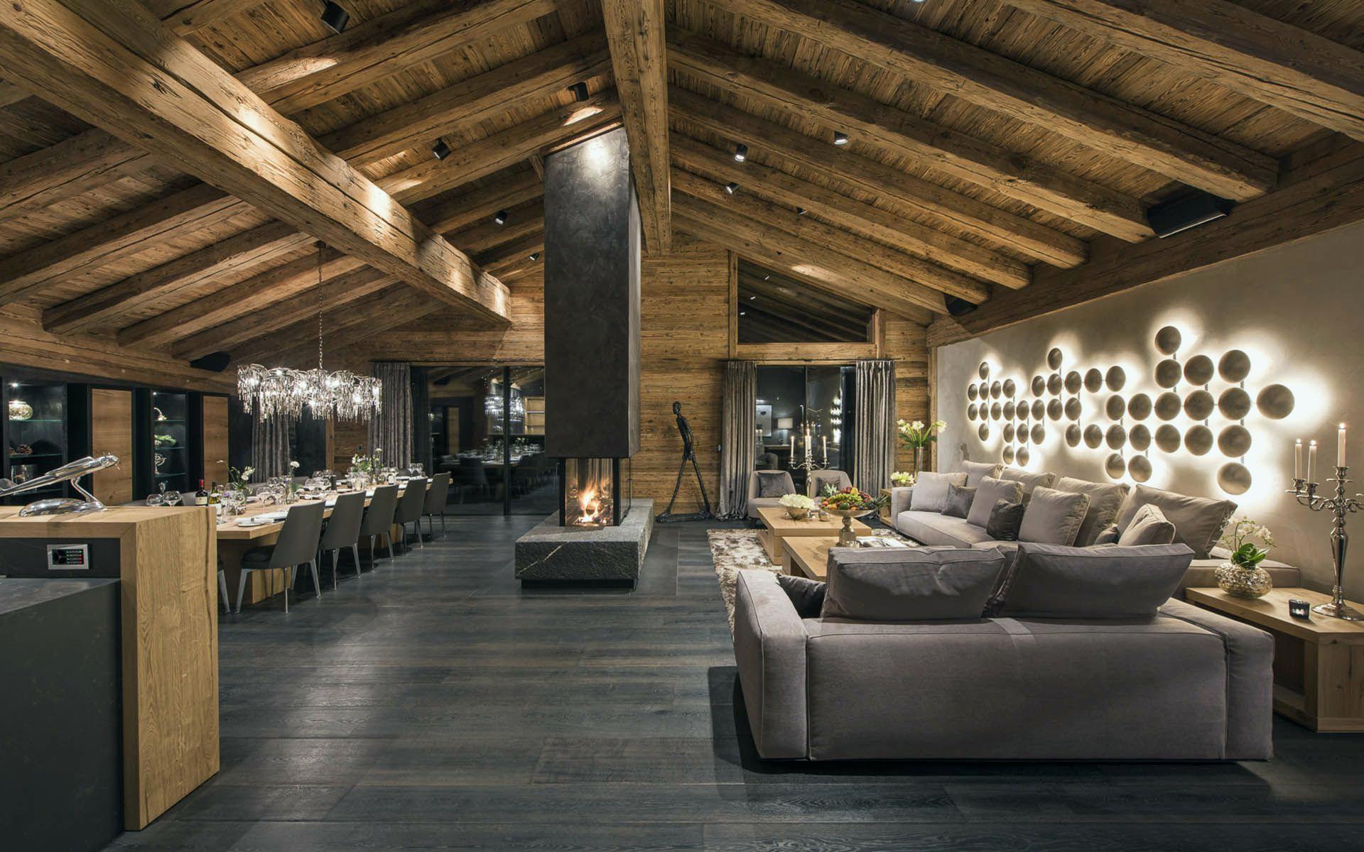 Decoration interieur chalet de luxe - Châlet, maison et cabane