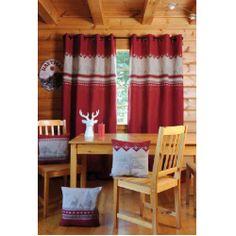 Rideaux style chalet ch let maison et cabane Rideaux style cottage