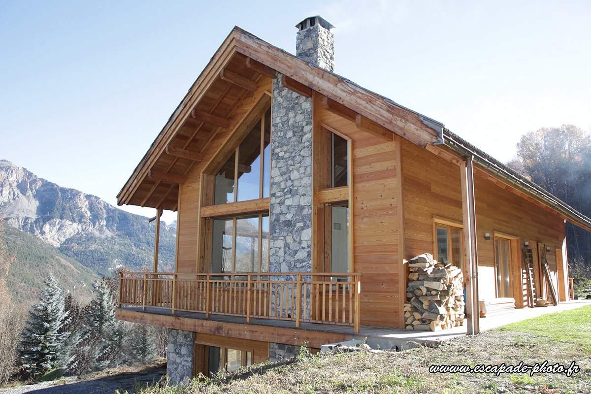 Constructeur chalet bois rhone alpes - Châlet, maison et cabane