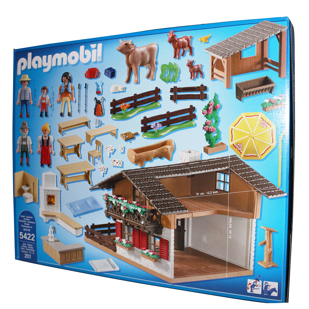 Chalet pour playmobil