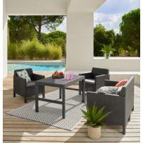Salon de jardin bas bois exotique - Châlet, maison et cabane