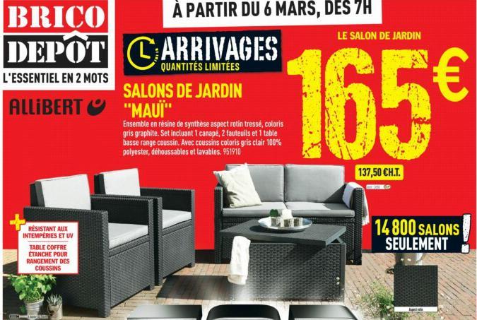 Salon de jardin alabama coloris graphite allibert - Châlet ...