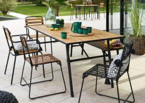 Salon de jardin tresse la redoute - Châlet, maison et cabane