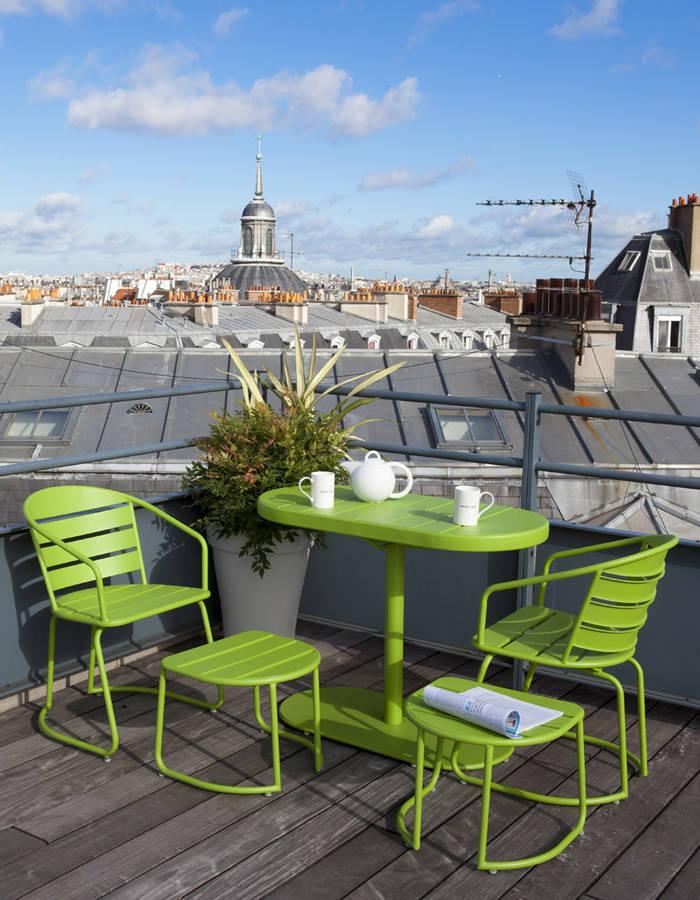 Mini salon de jardin pour balcon ch let maison et cabane - Salon de jardin special balcon ...