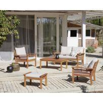 Prix salon de jardin bois exotique - Châlet, maison et cabane