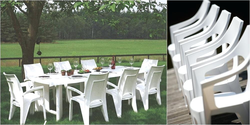 Mobilier de jardin allibert plastique - Châlet, maison et cabane