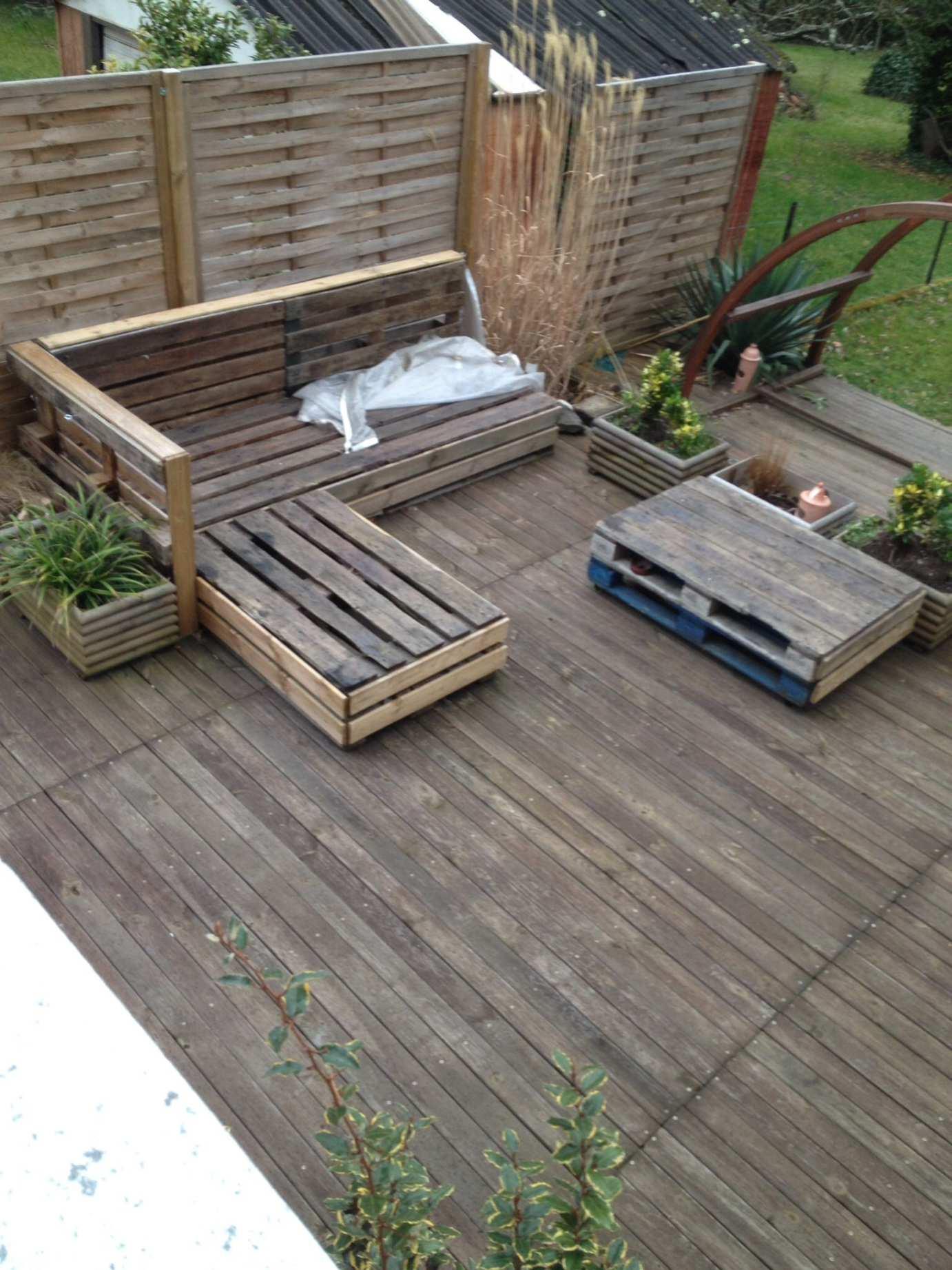Comment fabriquer son salon de jardin en palette - Châlet ...