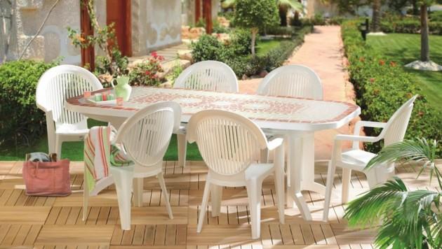 Astuce pour nettoyer salon de jardin en plastique