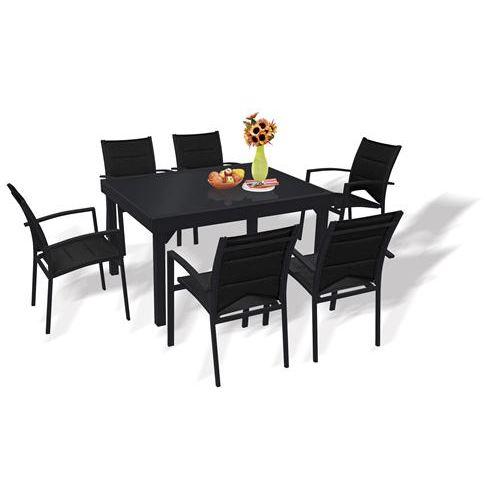 Table de jardin avec chaise pas cher ch let maison et - Table de jardin tresse pas cher ...