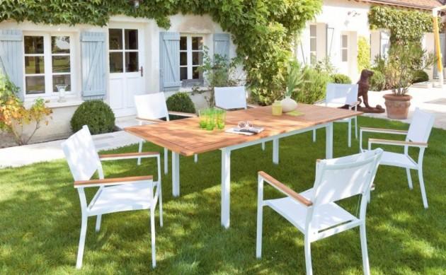 Salon de jardin blanc mr bricolage ch let maison et cabane - Salon de jardin monsieur bricolage ...
