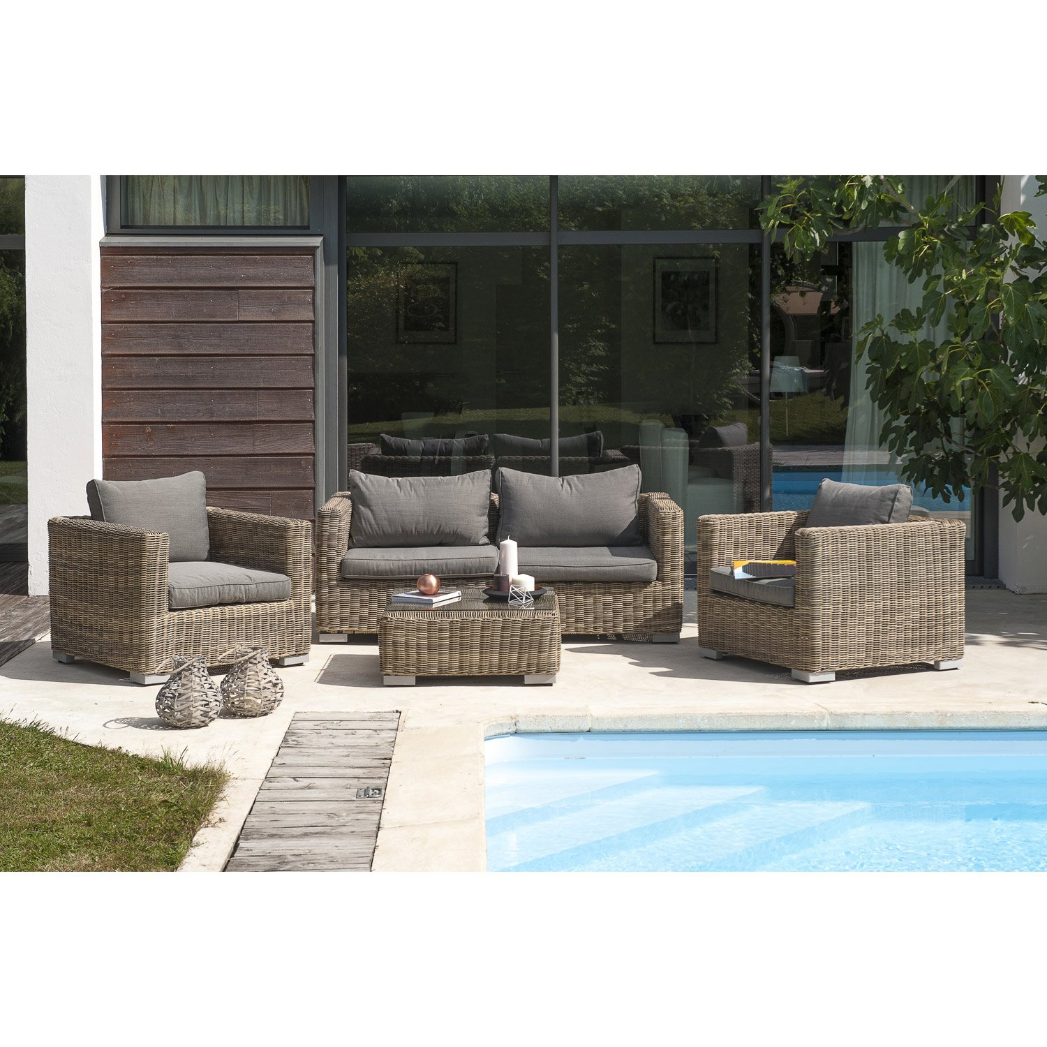 Table salon de jardin leroy merlin