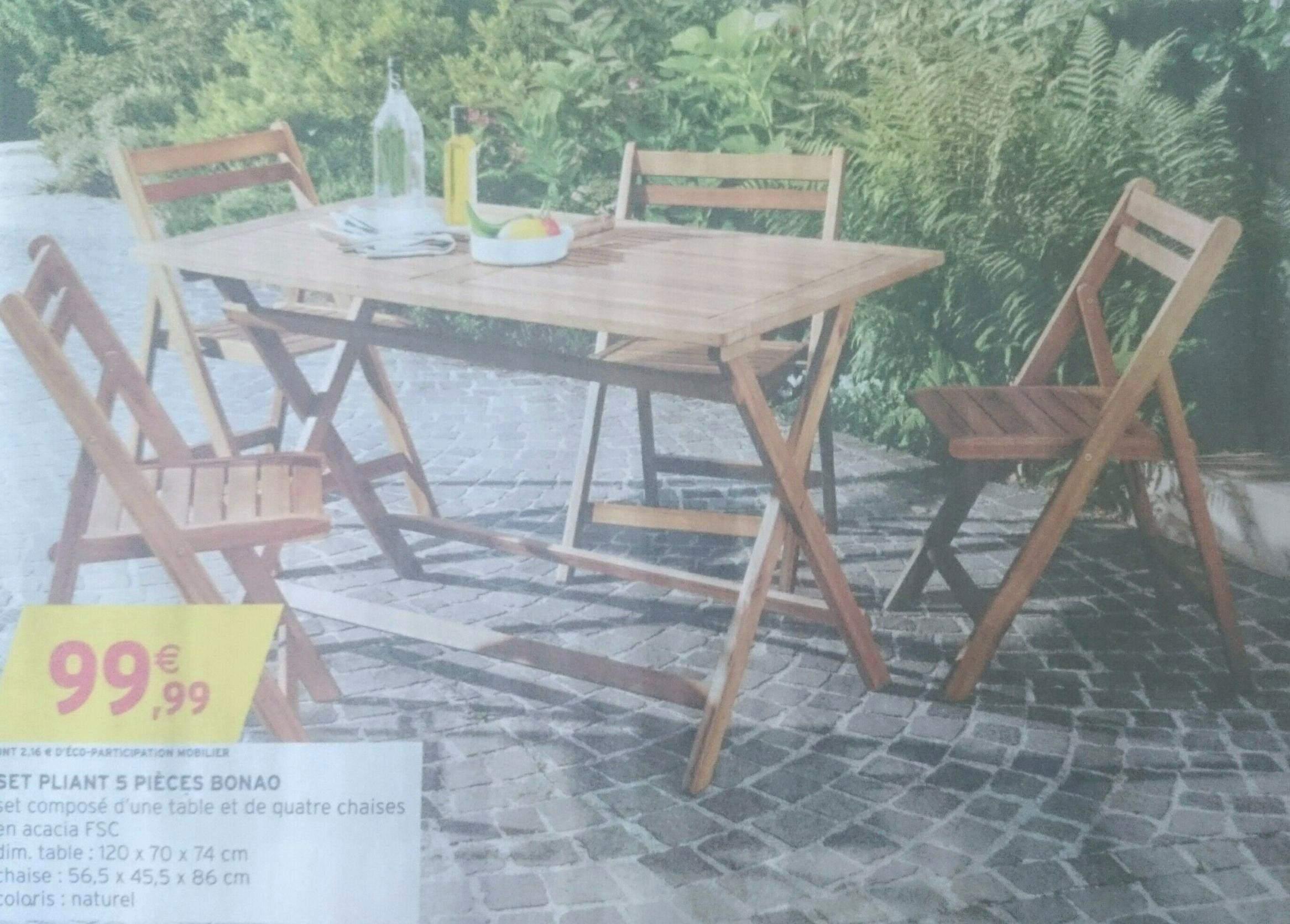 Salon de jardin wood forever - Châlet, maison et cabane