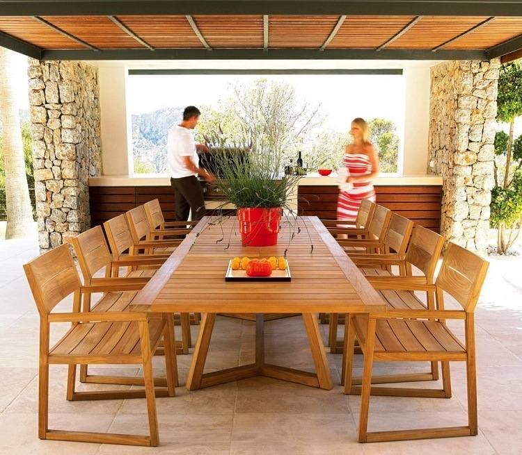 Salon de jardin exterieur luxe