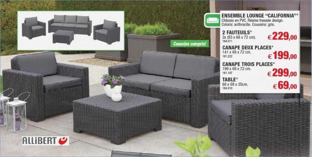 salon de jardin california 4 places ch let maison et cabane. Black Bedroom Furniture Sets. Home Design Ideas