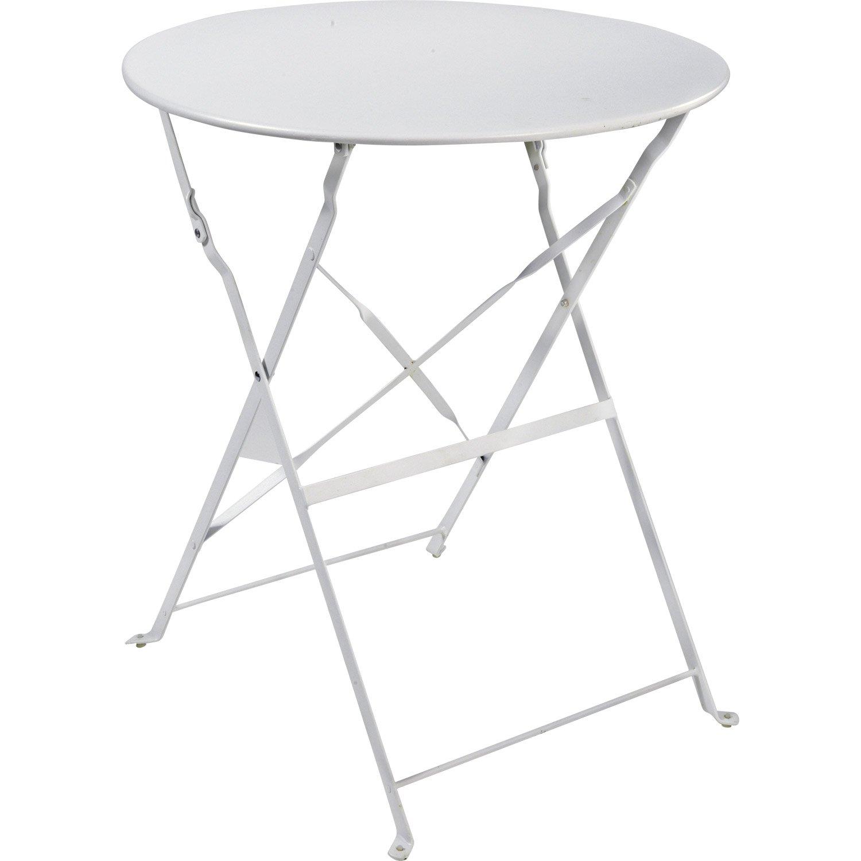 Table de jardin ronde