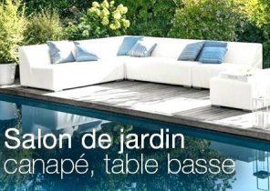 Salon de jardin en rotin truffaut - Châlet, maison et cabane