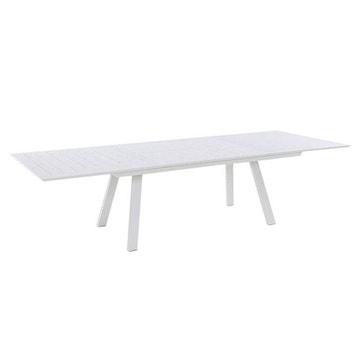 Salon de jardin table ronde extensible