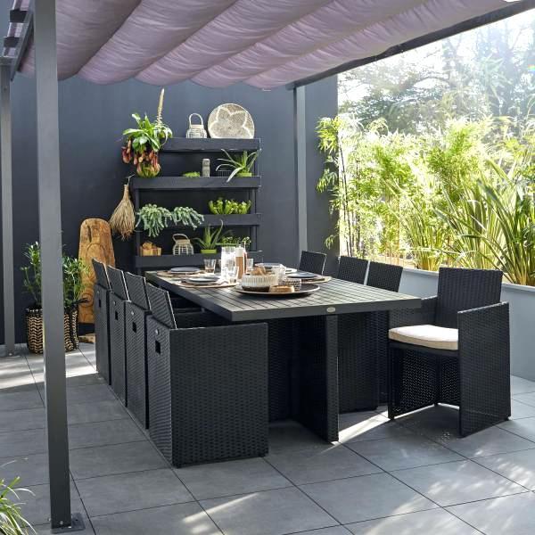 Housse salon de jardin truffaut