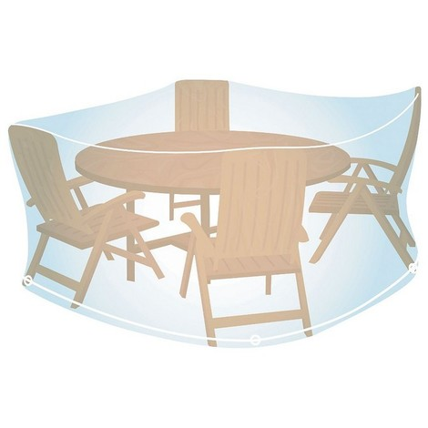 Table ronde pour salon de jardin
