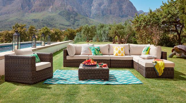 Table basse salon de jardin maison du monde