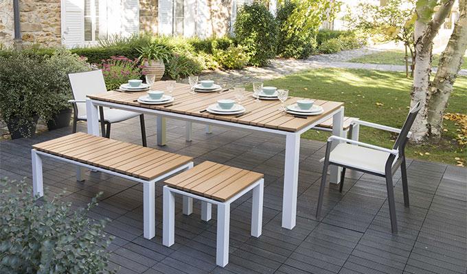Table salon de jardin truffaut