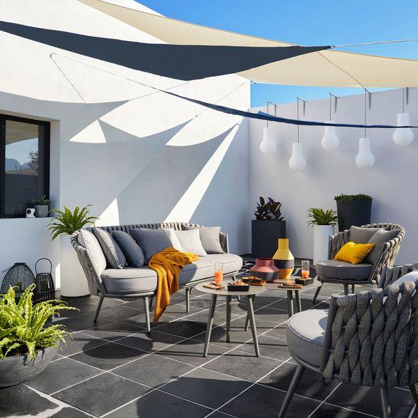 Salon de jardin grand luxe